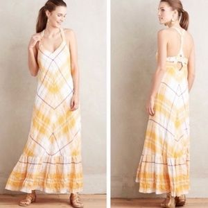 Holding Horses Clementine Yellow Summer Dress
